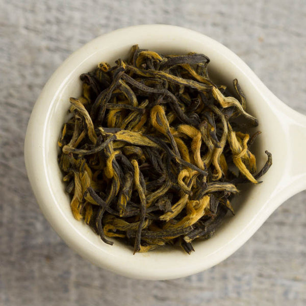 Loose Zhen Qu Golden Buds Black Tea #112