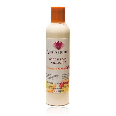 Goddess Body Lotion Pineapple Mango Bliss 8 oz