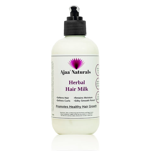 Natural Moisturizing Hair Milk - Ajaa Naturals