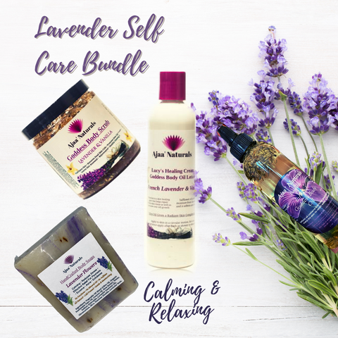 Lavender Self-Care Skin Bundle