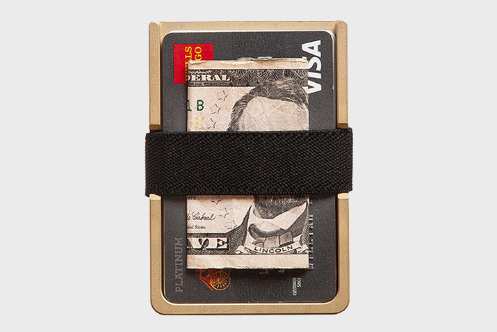 Machine Era Brass Wallet