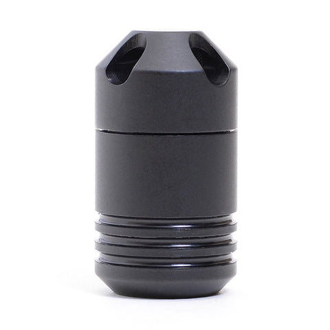 Waterproof Storage Capsule Black