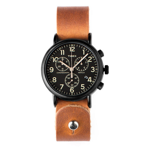 Horween Leather Timex Weekender Chrono