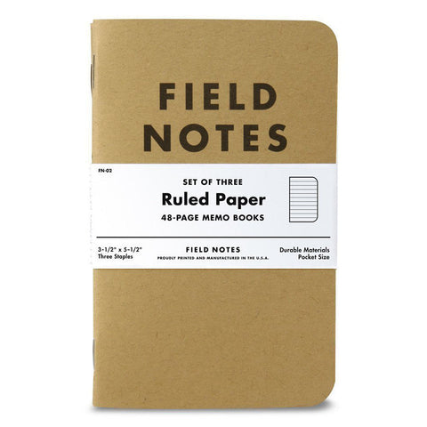 Original Kraft Pocket Notebook
