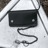 Weatherproof Leather Trucker Wallet