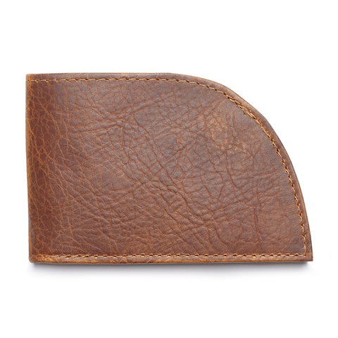 Front Pocket Bison Wallet