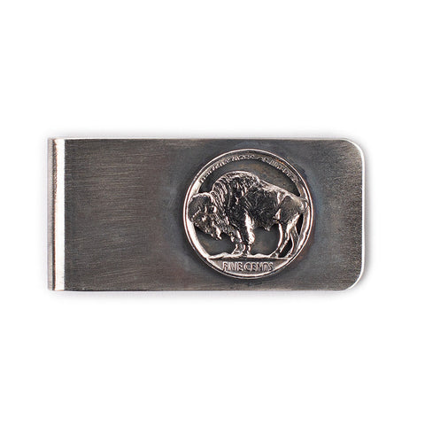 Buffalo Nickel Money Clip