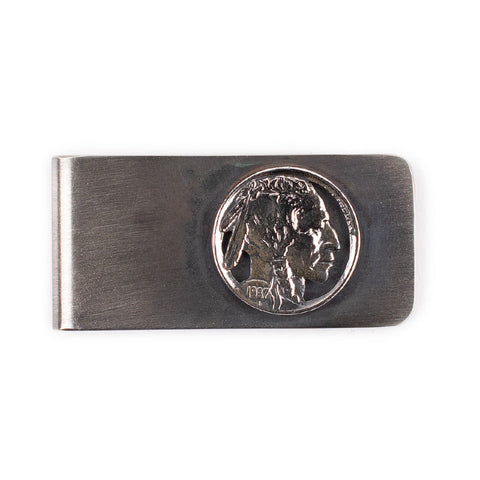 Indian Nickel Money Clip