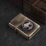 Buffalo Nickel Zippo Lighter