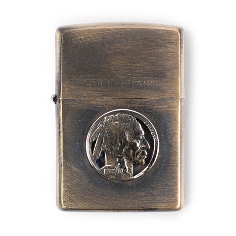 Indian Nickel Zippo Lighter