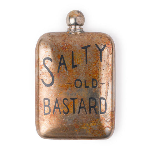Salty Old Bastard Noble Flask