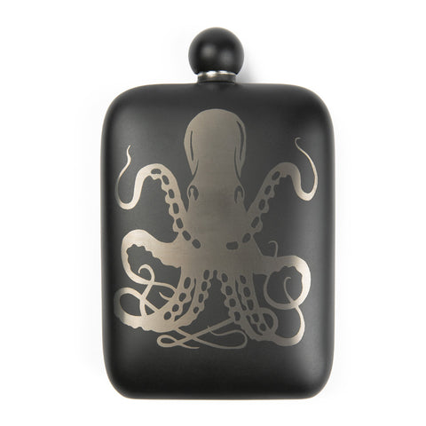 Sea Monster Perdition Flask