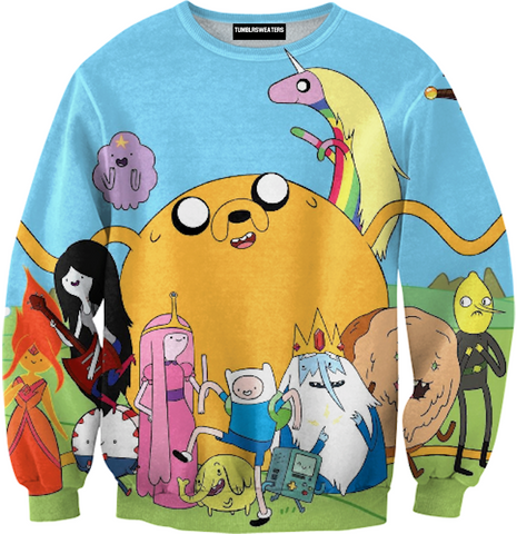Classic Adventure Time Sweater