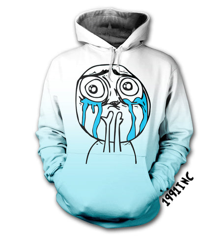 Crying Face Hoodie