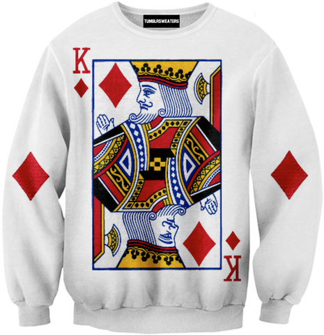King of Diamonds Sweater