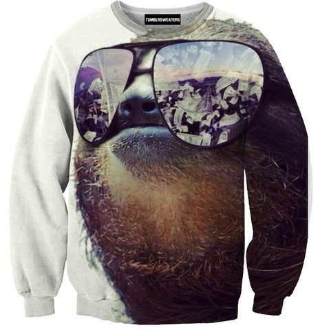 Cool Money Sloth Sweater