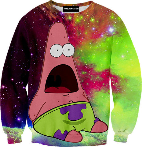 Patrick in Space Sweater