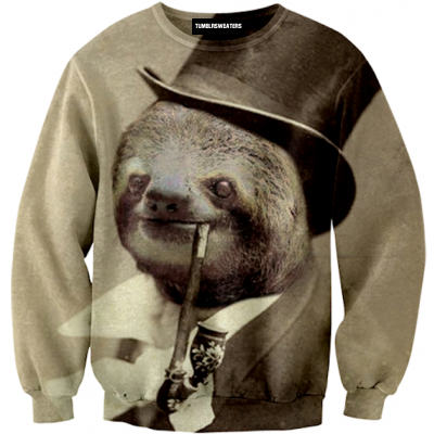 Old Money Sloth Sweater