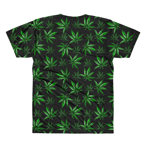 Image of OG Leaf All-Over-Print T-Shirt