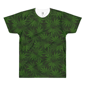 Forest Leafy Greens All-Over-Print T-Shirt