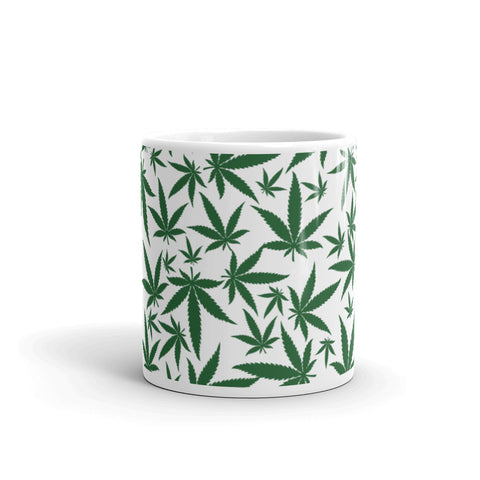 Image of Green Leaf Mug
