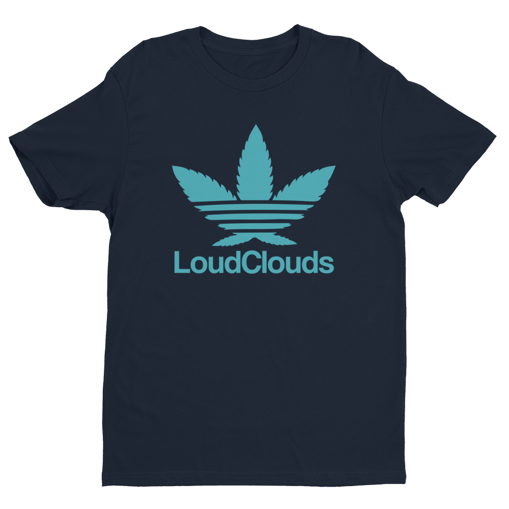 Leafy LoudClouds Baby Blue T-shirt