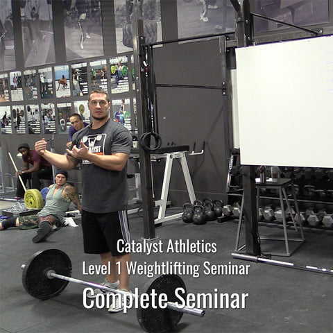 Level 1 Weightlifting Seminar with Greg Everett