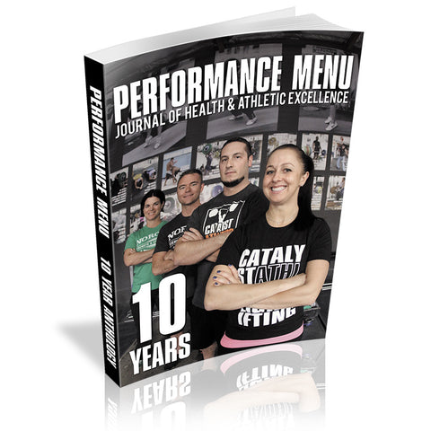 Performance Menu 10-Year Anthology