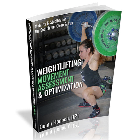 PRE-ORDER - Weightlifting Movement Assessment & Optimization
