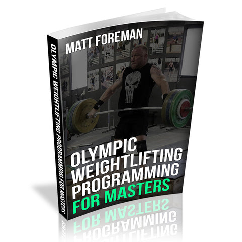 Olympic Weightlifting Programming for Masters