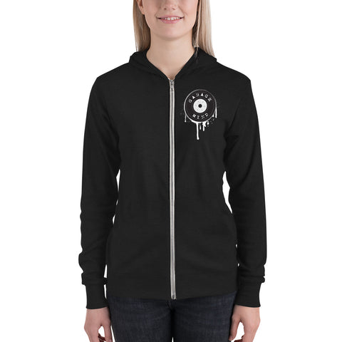Tougher Garage Mind Unisex Zip Hoodie