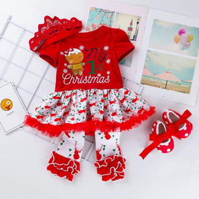 4-Piece My First Christmas outfit! Pre-Order