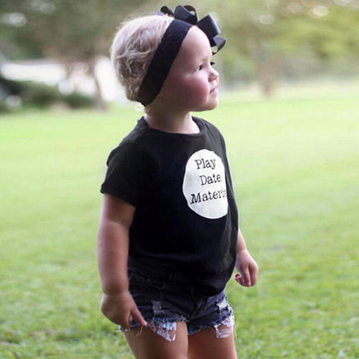 Toddler Girl T-shirt and short set