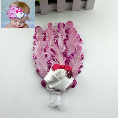 Toddlers Cute Flowers Hairband