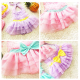 Baby Skirt Type Siamese Swimsuit