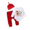 3-Piece My First Christmas outfit! Baby Boy