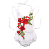 baby Cotton White embroidery