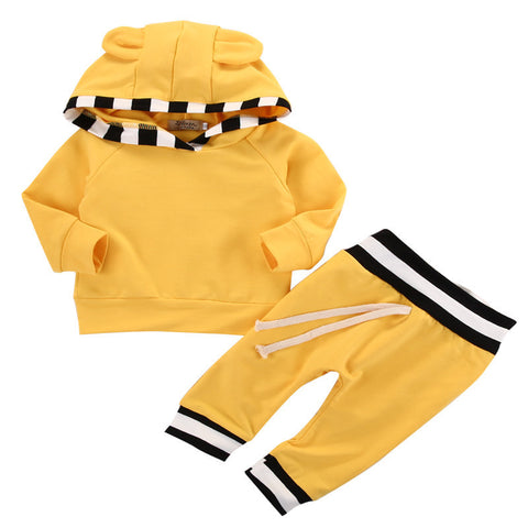 baby Hooded two sets