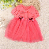 Baby Bow Tie Lace Princess Skirt