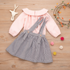 2-piece Baby / Toddler Girl  Solid Top and  Skirt set