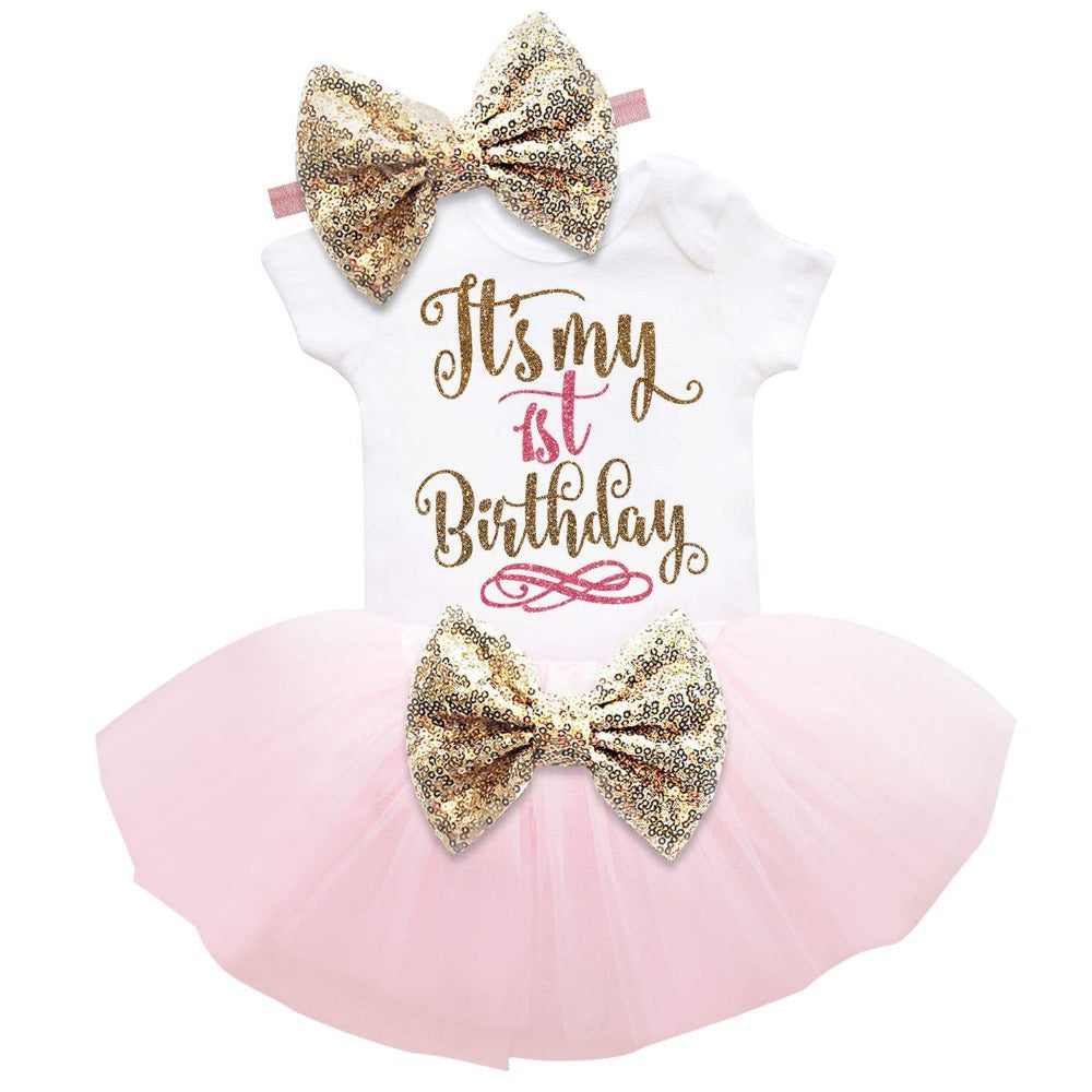 My First Birthday Adeline's Clothes