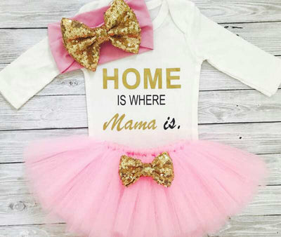 """Home Is Where Mama Is"" Clothes"