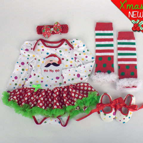 2017 Christmas Themed Outfit 4-Piece Set
