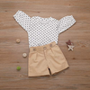 Baby / Toddler Trendy Dots Blouse and Shorts Set