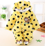 Bear-y Polka Dot  Cotton Clothing