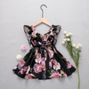 Baby/Toddler Girl's Sweet Flower Flounced Dress