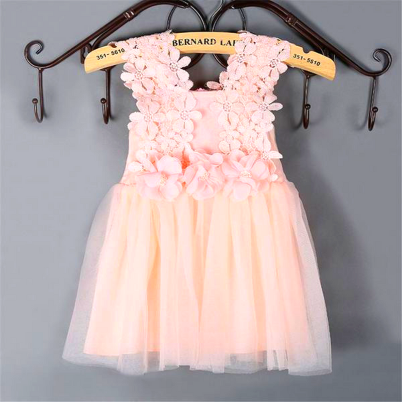 Baby / Toddler Floral Lace Dress