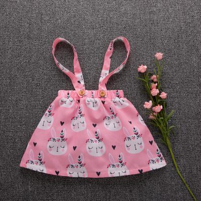 2-piece Easter Rabbit Dress in Pink