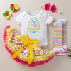 'My 1st Easter' Easter Leaves & Eggs Wreath  Design