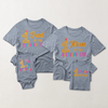 My 1st Birthday Family Matching T-shirts with Embroidery